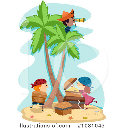 Royalty-Free (RF) Pirates Clipart Illustration by BNP Design Studio - Stock Sample #1081045