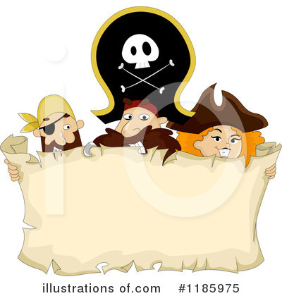 Royalty-Free (RF) Pirates Clipart Illustration by BNP Design Studio - Stock Sample #1185975