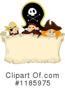 Royalty-Free (RF) Pirates Clipart Illustration #1185975