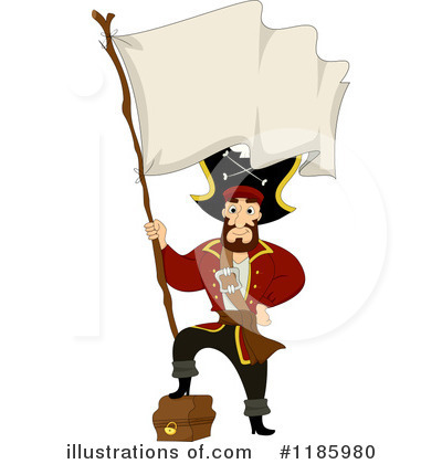 Royalty-Free (RF) Pirates Clipart Illustration by BNP Design Studio - Stock Sample #1185980