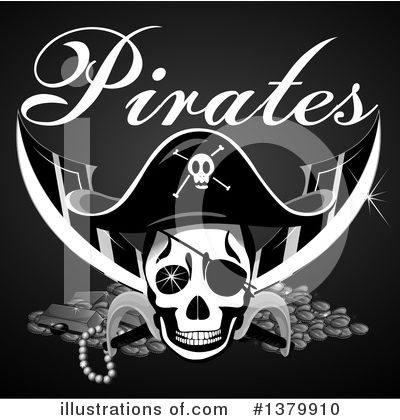 Skull Clipart #1379910 by Graphics RF
