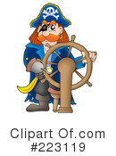 Royalty-Free (RF) Pirates Clipart Illustration #223119