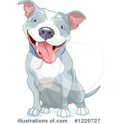 Pit Bull Clipart #1220727 by Pushkin