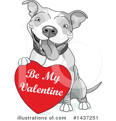 Pit Bull Clipart #1437251 by Pushkin