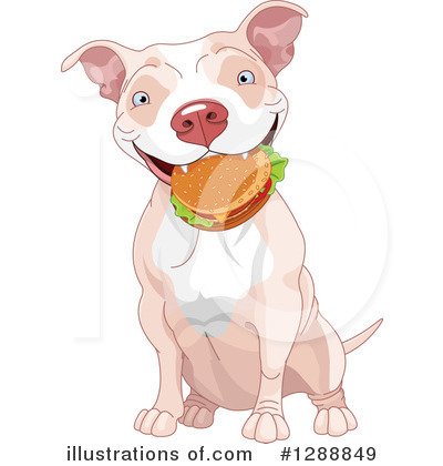 Pit Bull Clipart #1288849 by Pushkin