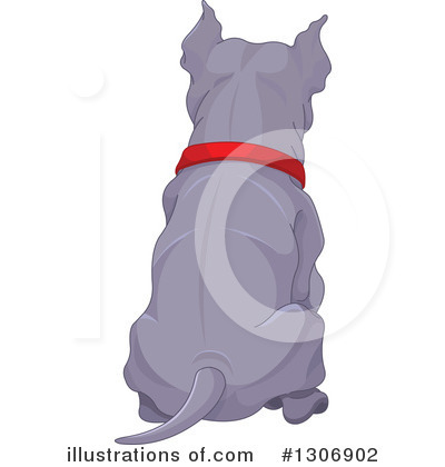 Pit Bull Clipart #1306902 by Pushkin