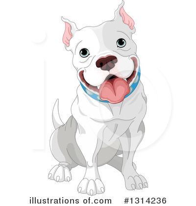 Pit Bull Clipart #1314236 by Pushkin