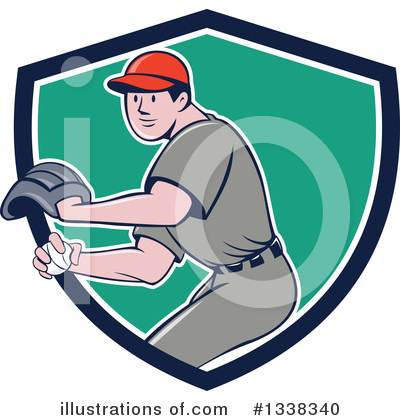 Royalty-Free (RF) Pitching Clipart Illustration by patrimonio - Stock Sample #1338340