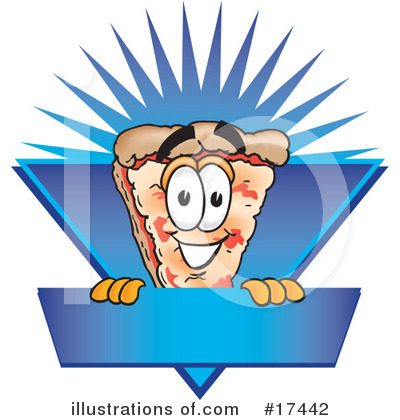 Pizza Clipart #17442 by Toons4Biz