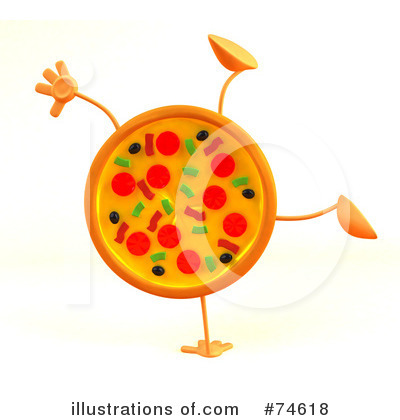 Pizza Character Clipart #74618 by Julos | Royalty-Free (RF) Stock