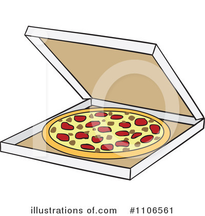 Pizza Delivery Clipart #1106561 by Cartoon Solutions