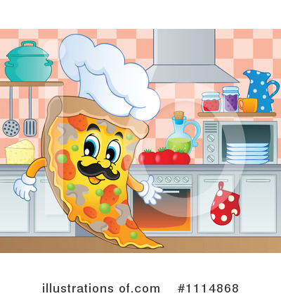 Kitchen Clipart #1114868 by visekart