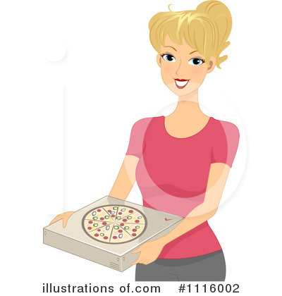 Pizza Delivery Clipart #1116002 by BNP Design Studio