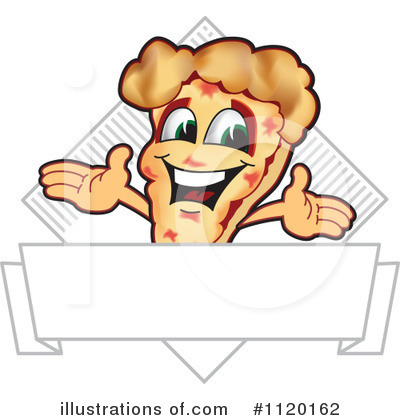 Pizza Clipart #1120162 by Toons4Biz