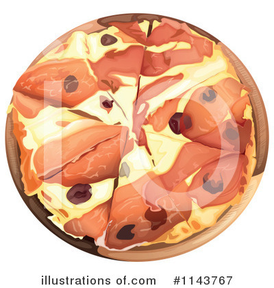 Pizza Clipart #1143767 by Graphics RF