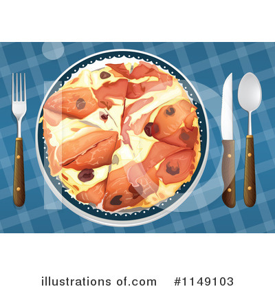 Pizza Clipart #1149103 by Graphics RF