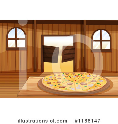 Pizza Clipart #1188147 by Graphics RF