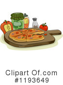 Pizza Clipart #1193649 by BNP Design Studio