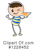 Pizza Clipart #1228452 by Graphics RF
