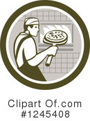 Pizza Clipart #1245408 by patrimonio