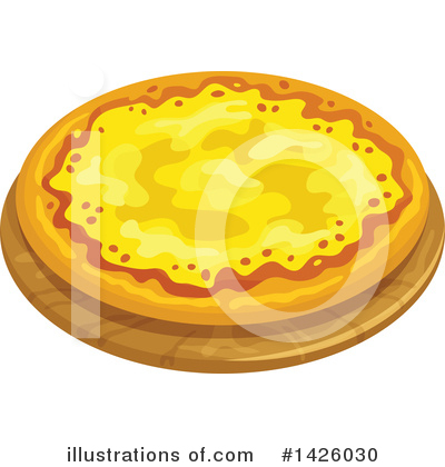 Pizza Clipart #1426030 by Vector Tradition SM