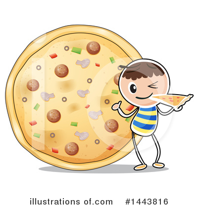 Pizza Clipart #1443816 by Graphics RF