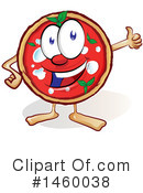 Pizza Clipart #1460038 by Domenico Condello