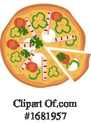 Pizza Clipart #1681957 by Morphart Creations