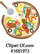 Pizza Clipart #1681973 by Morphart Creations