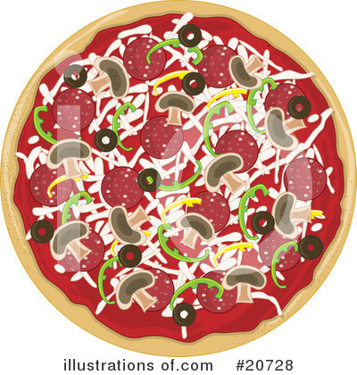 Pizza Delivery Clipart #20728 by Maria Bell