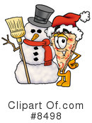 Pizza Clipart #8498 by Toons4Biz