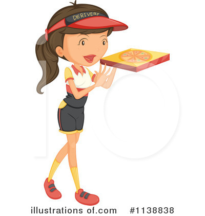 Pizza Delivery Clipart #1138838 by Graphics RF