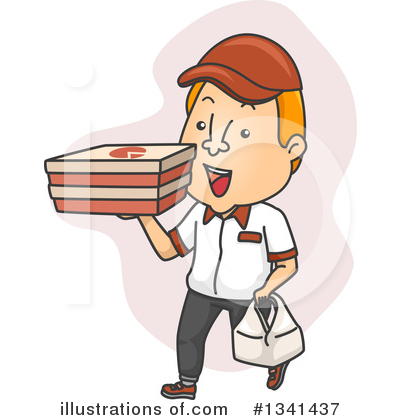 Food Delivery Clipart #1341437 by BNP Design Studio
