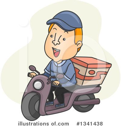 Food Delivery Clipart #1341438 by BNP Design Studio