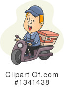 Pizza Delivery Clipart #1341438