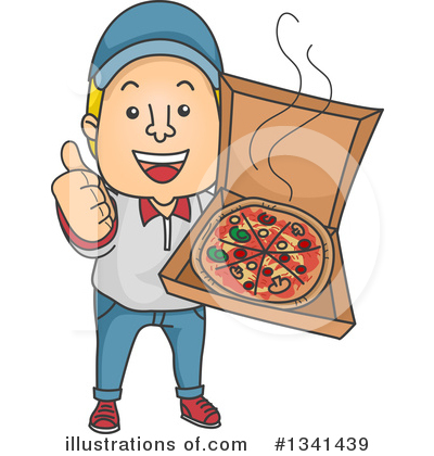 Food Delivery Clipart #1341439 by BNP Design Studio