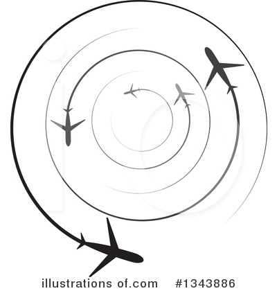 Jet Clipart #1343886 by ColorMagic