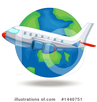 Plane Clipart #1440751 by Graphics RF