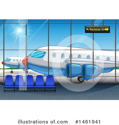 Plane Clipart #1461941 by Graphics RF