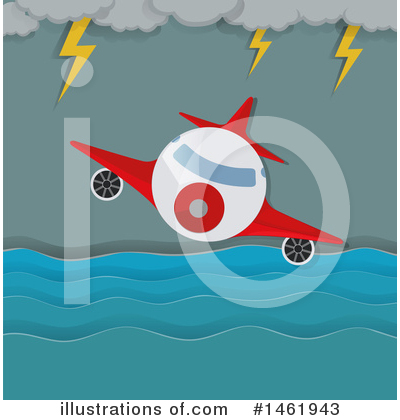 Plane Clipart #1461943 by Graphics RF