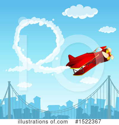Plane Clipart #1522367 by Graphics RF