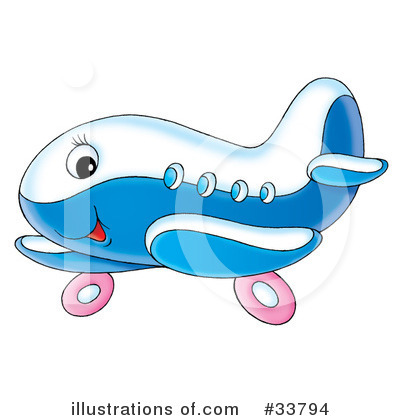 Airplane Clipart #33794 by Alex Bannykh