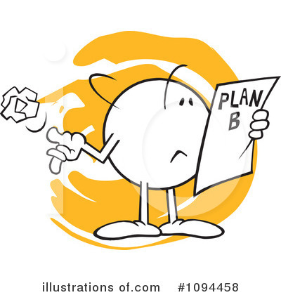 Royalty-Free (RF) Planning Clipart Illustration #1094458 by Johnny ...