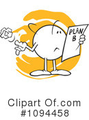 Planning Clipart #1094458 by Johnny Sajem