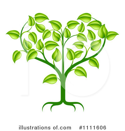 Royalty-Free (RF) Plant Clipart Illustration by AtStockIllustration - Stock Sample #1111606