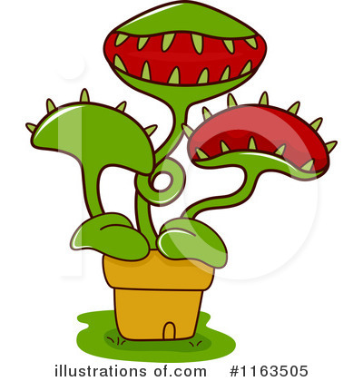 Royalty-Free (RF) Plant Clipart Illustration by BNP Design Studio - Stock Sample #1163505