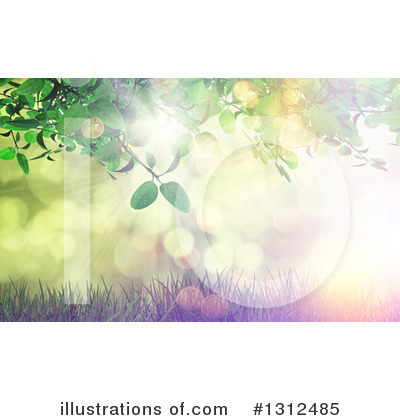 Leaves Clipart #1312485 by KJ Pargeter