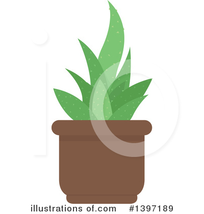 Royalty-Free (RF) Plant Clipart Illustration by dero - Stock Sample #1397189