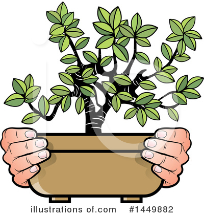 Royalty-Free (RF) Plant Clipart Illustration by Lal Perera - Stock Sample #1449882