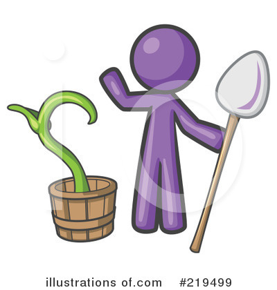 Purple Design Mascot Clipart #219499 by Leo Blanchette